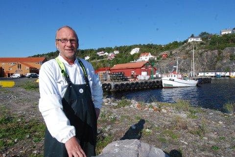 Yngvar Aanonsen håper hovedutvalget nå sier ja til planene for det nye fiskemottaket.