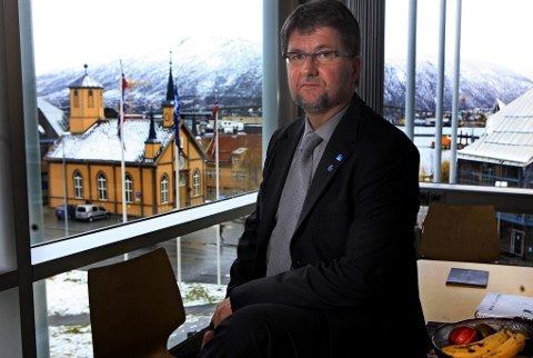 SKEPTISK: Ordfører Arild Hausberg (Ap) i Tromsø er ikke lenger positiv til en ny moské i Tromsø, finansiert av Saudi- Arabia. Avsløringene og informasjonen Nordlys har brakt om det muslimske miljøet, har fått ordføreren til å tenke om igjen.