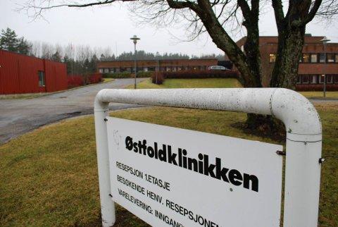 TIL MOSS: Østfoldklinikken i Fredrikstad brukes ikke lenger som sykehuslokaler. I stedet skal rusmisbrukere få behandling ved sykehuset i Moss. (Foto: Stina Mikalsen)