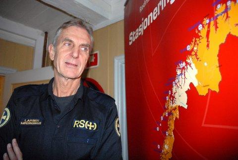 Overrasket: Jarl Berge Larsen, leder ved Sjøredningsskolen i Stavern.Arkivfoto: Elisabeth Løsnæs