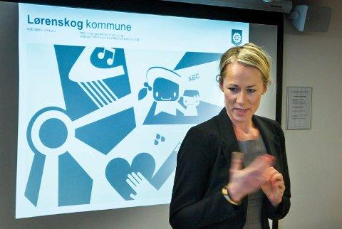 UNIK MULIGHET: Hege Dyrland, koordinator for det tverrfaglige samarbeidet (TFS) i Lørenskog, ser på modellkommuneprosjektet som en unik mulighet til å oppdage barn som sliter tidlig og hjelpe dem. Foto: Kay Stenshjemmet