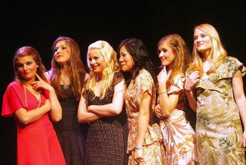 THIHI, SE PÅ OSS'A: Kjersti Eskild Havenstrøm (fra venstre), Hilde Solhaugen, Tine Løbekk, Ann Jee F. Einmo, Mari Hovengen og Rikke Eriksen.