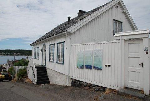 Lukket: foreløpig er huset stengt for allmennheten