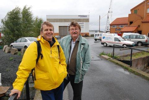Blant arkitektene som leverer utkast til Holmenutbyggingen er landskapsarkitekt Johan Østengen og arkitekt Oddvar Johansen.