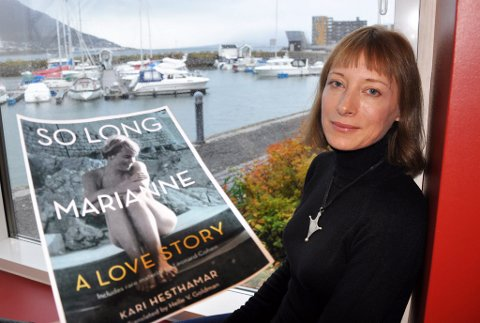 OVERSETTER:?Helle Goldman har oversatt boka «So long, Marianne» til det amerikanske markedet ? fra Tromsø.