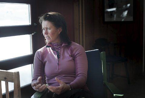 Generalsekretær i Norges Røde Kors, Åsne Havnelid, på Finsekursene (05.03.2012).