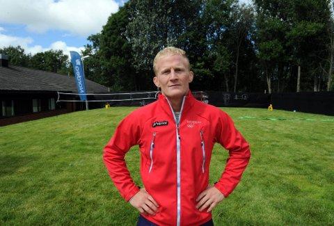 Stig André Berge skal være med i  bryting under OL i London