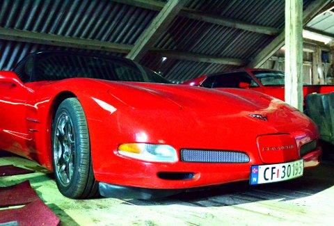 En kultbil - Chevrolet Corvette.