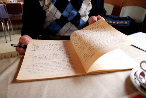 DIKT: Svenn har i flere år skrevet ditk. Om livet, hjemstedet, arbeidernes rettigheter og kjærligheten.