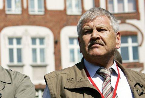 Udo Voigt er tidligere leder av NPD. Nå er han partiets representant i EU-parlamentet.