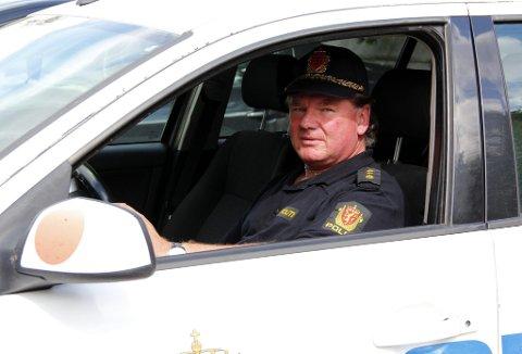 Uniform: Vedtaket i politiets sentrale ansettelsesråd gjør at Stein Robin Kleven Bergh snart kan stille i uniform igjen.FOTO: VIDAR NYGÅRDSETER (arkivbilde)