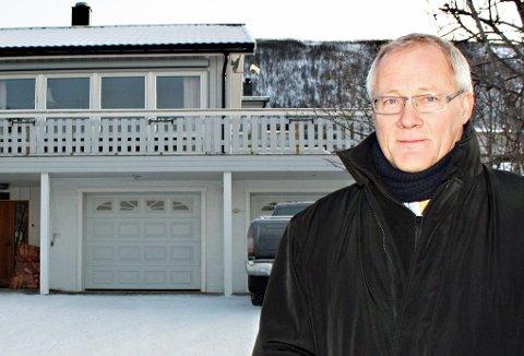 knallsalg: Torsdag ble denne eneboligen i Kroken solgt for 4.850.000 kroner ? langt over takst. Børge Martinussen mener det viser at boligprisene i Tromsø slett ikke er på vei nedover, slik det varsles nasjonalt.