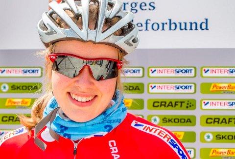 Ingrid Bøe Jacobsen klinket til med et toppløp i Tsjekkia fredag kveld.