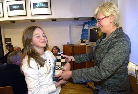Rørt juryleder.  ? Du har rørt oss alle, sa juryleder og sjefredaktør i Avisa Nordland, Tone Jensen, da hun i går kunne kåre Amanda Hegge Jensen til Årets Nordlending.