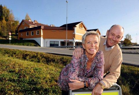 opptur i nord: Anne Stenseth og Knut Skaugrud ser fram til åpningen av City Hov 20. november. foto: henning gulbrandsen