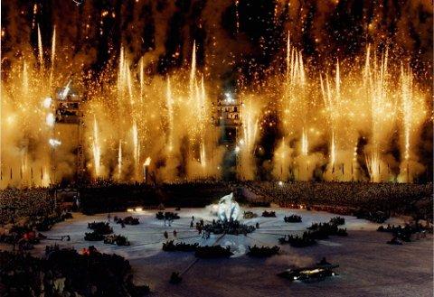 Mange drømmer om at Norge igjen skal bli vertskap for OL - i 2022. Men i Høyre er meningene delte. Bildet er fra Lillehammer-OL 1994.