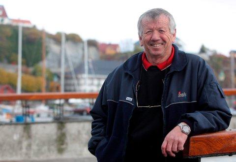 OL-presidenten i Brevik Olympiske Komité, John Fredrik Tittei Fosse, er sliten. Men han lover en glad folkefest under Vinter-OL.