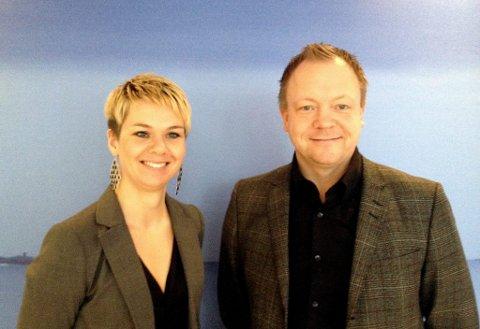 Ny styreleiar Bengt Solheim-Olsen og prosjektleiar Kristin Maurstad
