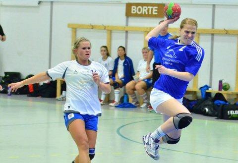 Renate Ottesen tegnet seg for tre scoringer i oppgjøret mot Stange.