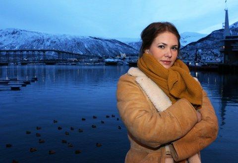 AKTUELL: Mari Sofie Andreassen i teatergruppa Teaterterminalen har flyttet hjem til Tromsø og setter i helga opp det allerede kritikerroste stykket «De selektive», om sorteringssamfunnet i lys av selektiv abort.