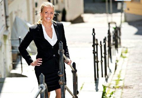 Supermegler Stine Larsen Sandvik knuser sine egne rekorder. Hun jobber da også etter eget utsagn opp mot 90 timer i uken. (Arkivfoto)
