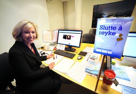 - Vi vil spare liv -  bare i år dør rundt 5.000 mennesker i Norge av røykerelaterte sykdommer, sier helseminister Anne-Grete Strøm-Erichsen.