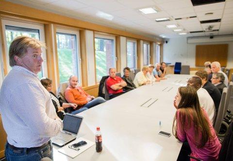 Ekstraordinært styremøte i AP. Foto: Thomas Andersen