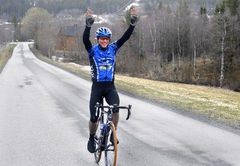 VANT: Yngve Kiserud fra Sandnessjøen og Omegn Cycleklubb (SOCK) var suverent best i Vefsntråkket i fjor.