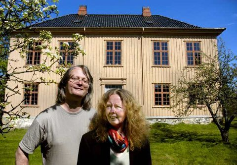 Bestemt seg: Ragnar Kristensen og Bente Bjerknes vil selge Yttersø og kjøpe et nytt restaureringsprosjekt.