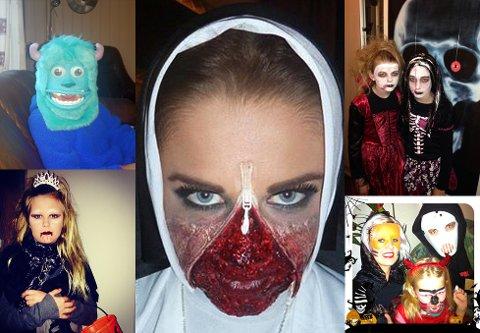 Skummel Halloween Sminke.Tidens Krav Ikke Bare Ann Kristin Som Var Skummel