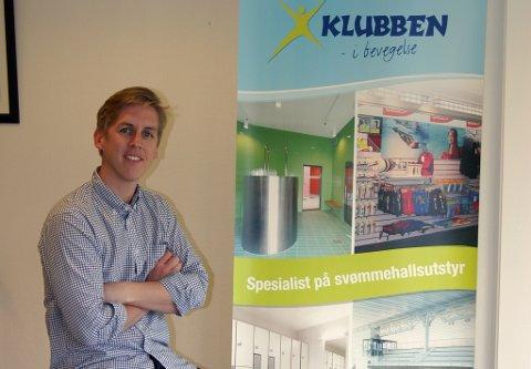 VINNER ANBUD: Kristian Botten Pedersen er anbudsansvarlig i Klubben AS. Nå gir han tips til andre småbedrifter om hvordan vinne offentlige anbud.