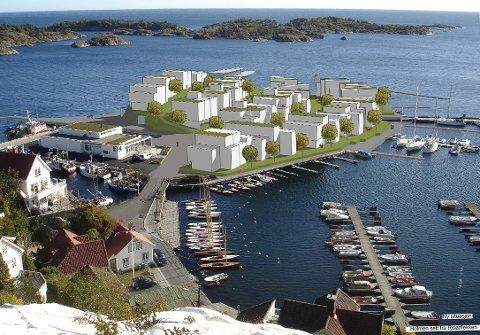 -Trenger vi en feriehusbydel på den mest fantastiske og spektakulære tomta i byen?, spør Åsta Hegdahl.