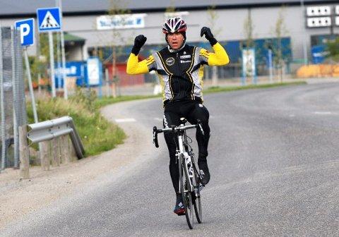 BEST: Ingen klarte å følge Tom Eriksen i årets utgave av Polarsirkelrittet.