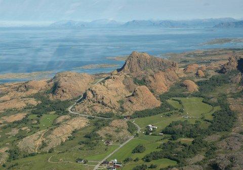 Nytt nasjonalmonument: Leka vant kåringa av Norges geologiske nasjonalmonument.