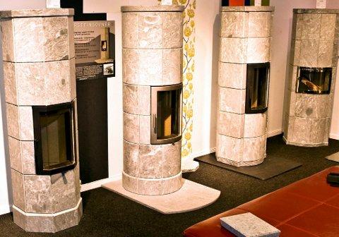 Nye, moderne vedovner, som disse kleberovnene, utnytter vedenergien svært godt.