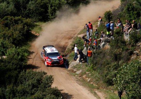 Petter Solberg rattet sin Citroën inn til tredjeplass på grusen i Sardinia. Nå jakter han ny pallplass i Argentina.
