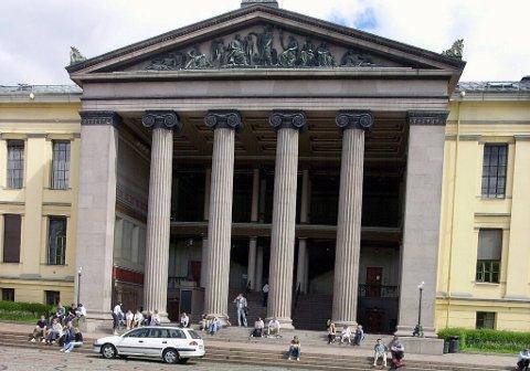 Studentene her på Det juridiske fakultet ved Universistetet i Oslo klager mest på eksamen.