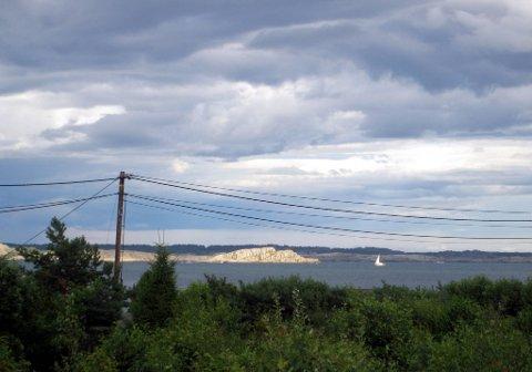 Her på Østerøya i Sandefjord ble landets dyreste hytte solgt for 23,6 millioner tidligere i år.