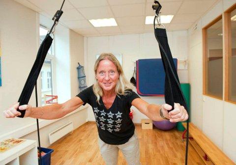 Elisabeth Skarstein Waaler startet Bergen Barnefysioterapi i 2006.  Trygghet er viktig både for oss og barna som kommer hit, sier hun.