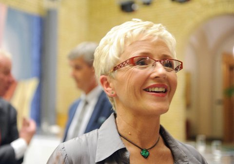 Kommunalminister Liv Signe Navarsete.