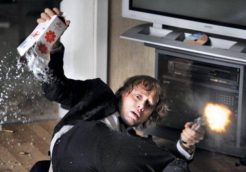 Aksel Hennie spiller en vellykket rekrutteringsekspert i «Hodejegerne». Filmen var nest mest besøkt på kino i 2011.