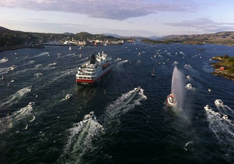 Direktesendt TV fra Hurtigruten skaffet NRK mange seere.