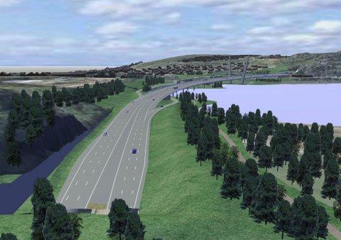 Fordyrende I: Larvikstunnelen som ender ut ved Bøkeskogen skal bygges delvis som fjelltunnel og løsmassetunnel.