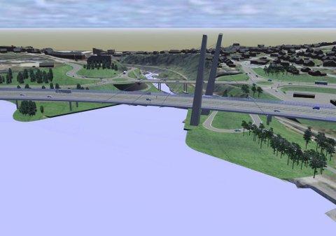 Fordyrende II: Ny lavprofil bru over Farrisvannet vil innebære høye kostnader per meter.