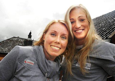 Karoline Dyhre Breivang - Linn Jørum Sulland gleder seg til OL i London.