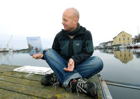 Lars Verket med sin padleguide.