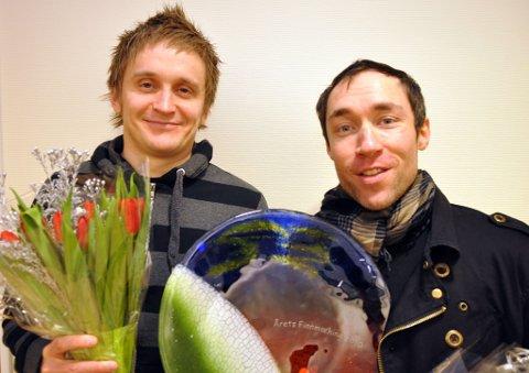 Tommy Wirkola (til venstre) og Stig Frode Henriksen er av leserne kåret til årets finnmarkinger 2010.
