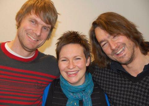 BESTEVENNER: Regissør Christian Lo, produsent Trine Aadalen Lo og manusforfatter Morten Hovland er alle tre bosatt i Lillehammer. Christian er oppvokst på Vinstra.