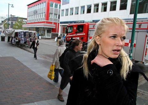 Mariell Brox (19) var vitne til ulykken.