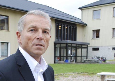 VIL HA AKTSOMHET: Påtroppende ordfører Geir Knutsen mener det er grunn til å følge med på råvaretilgangen til Norway seafoods i Båtsfjord.
